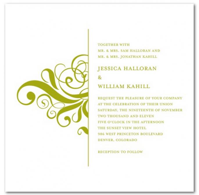 Elige los mejores elementos visuales para tus invitaciones - Foto Wedding Paper Divas