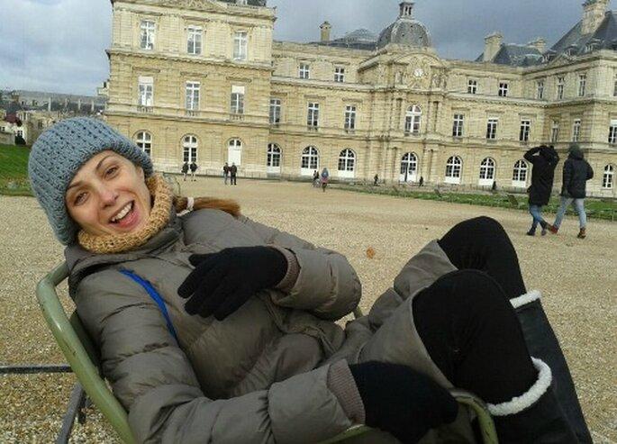 'Joyeux!' Jardines de Luxemburgo. Foto: Carmen Berbel