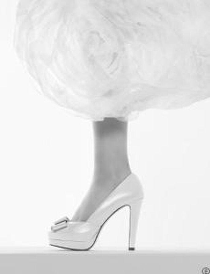 Rosa Clará 2010 - Zapato alto con plataforma