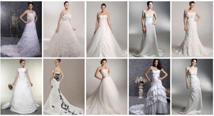 10 modelos para novias con poco pecho