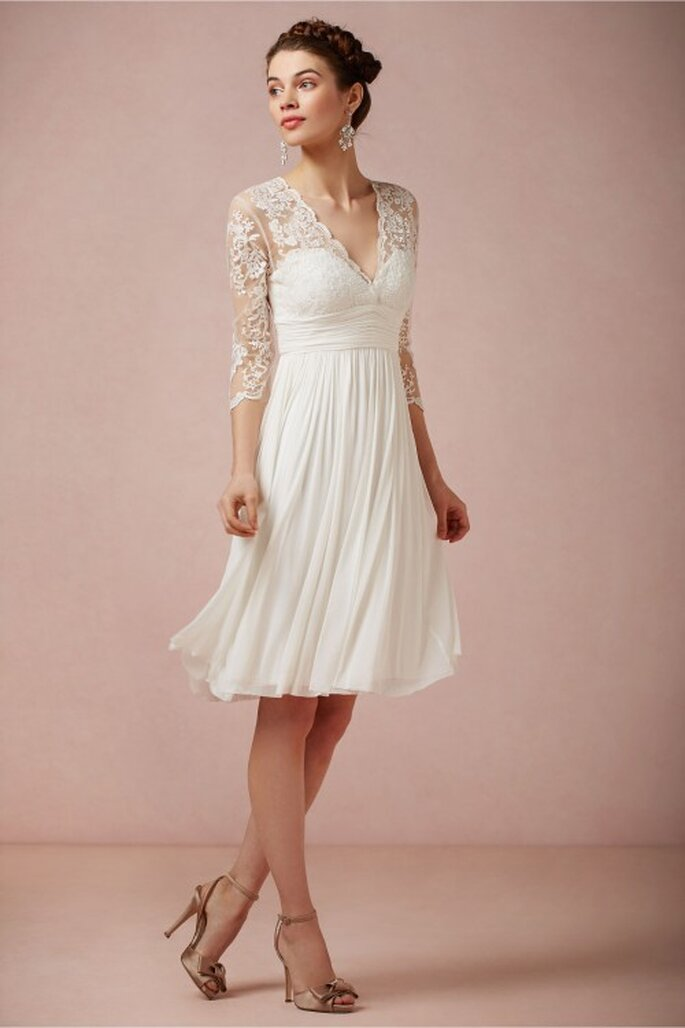 """Vestido """"Omari"""" diseñador por Catherine Deane de venta al público - Foto BHLDN"""