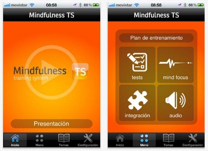 Mindfulness TS, reduce el estrés antes de tu boda - Foto: itunes.apple.com