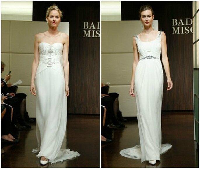 Minimal ma di gran classe. Badgley Mischka Fall 2013 Bridal Collection. Foto: www.badgleymischka.com