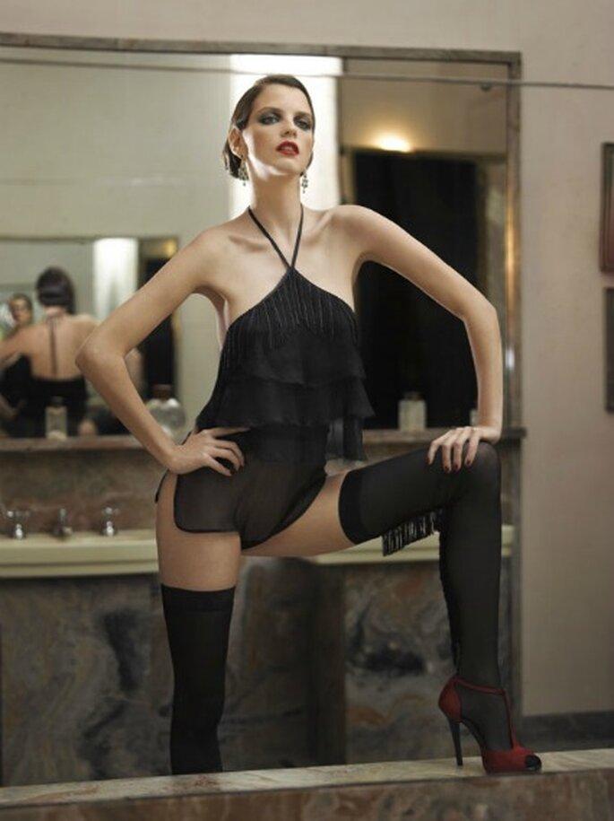 Las más sugerentes y especiales prendas de lencería que recrean la atmósfera de las fiestas al estilo Great Gatsby - La Perla