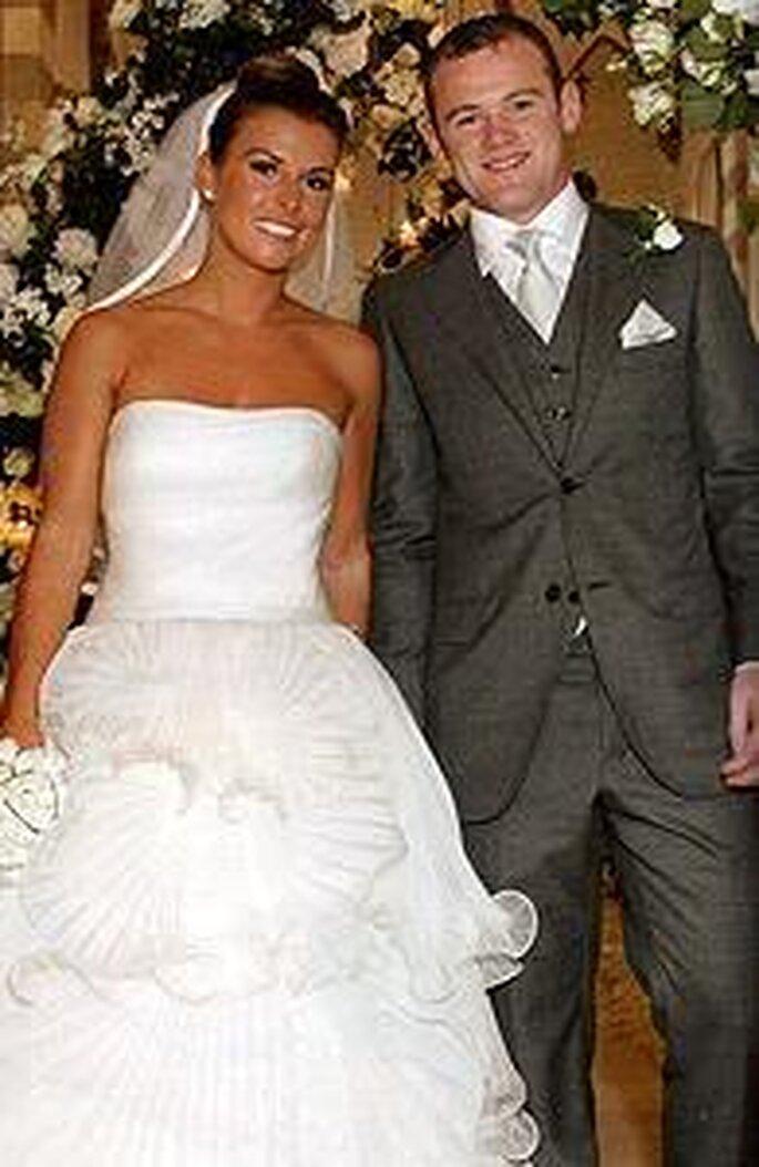 Boda de Colleen y Wayne Rooney (junio 2008)