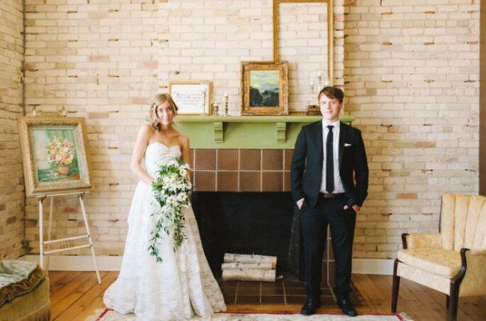 Mariage rétro avec une mise en scène super chic - T&S Hughes Photography