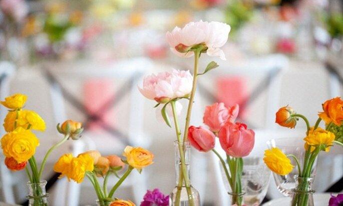 Cómo contratar la mejor florería para la decoración de boda - Foto Blaine Siesser Photography