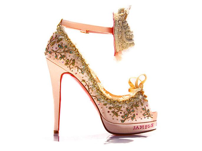 Zapato Marie Antoinette, una edición limitada de Christian Louboutin