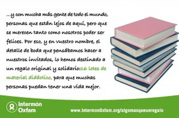 Tarjetas solidarias Intermon-Oxfam