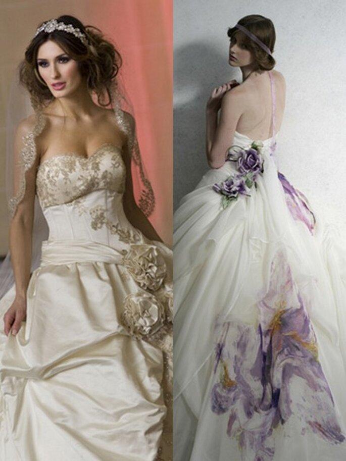 Vestidos de novia Bocci y Atelier Aimee