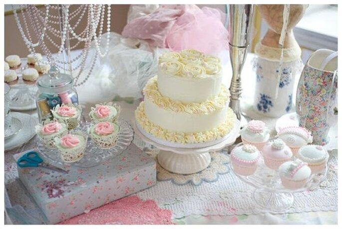 Decoración en tonos pastel - Lucy G Photography