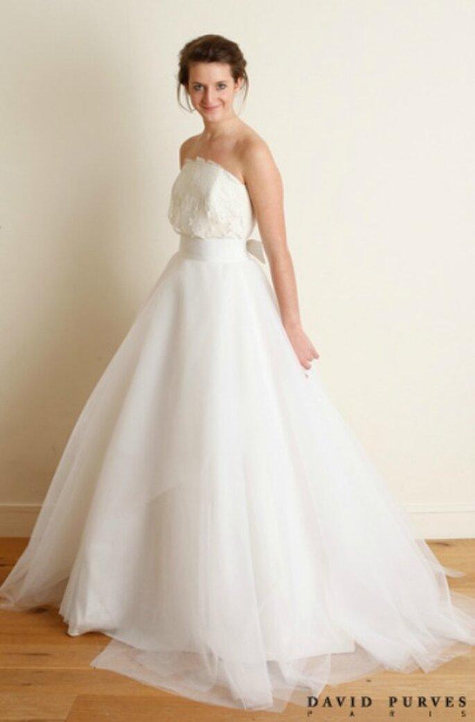 Robe de mariée bustier 2013 - David Purves
