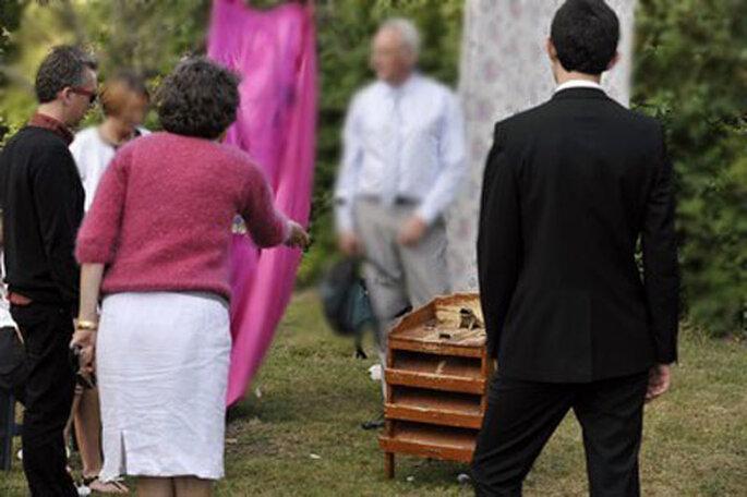 Mariage ambiance fête de village