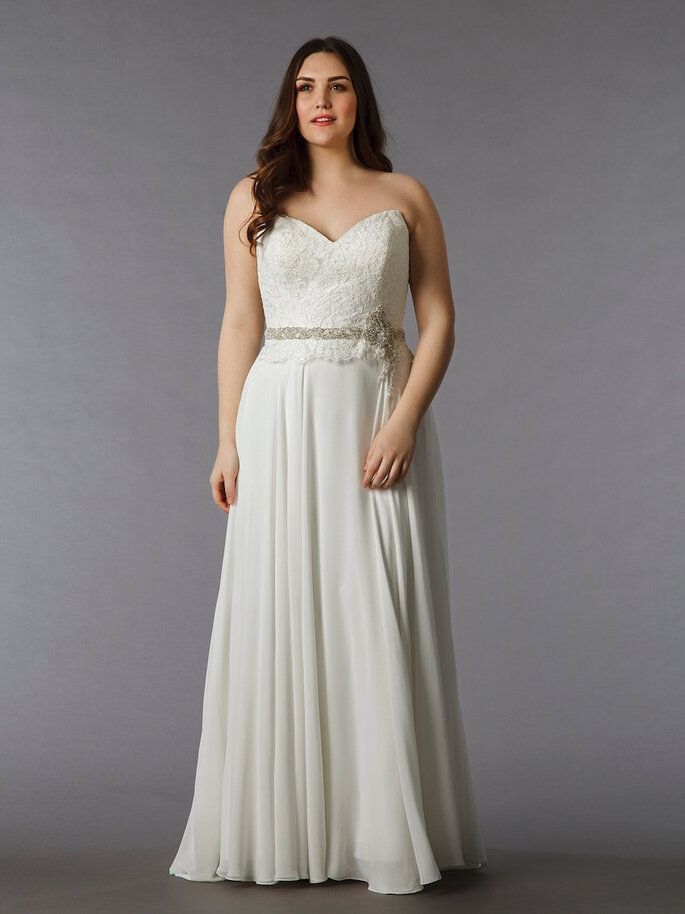 Vestidos de novia para chicas de talla grande - Dina Davos para Kleinfeld