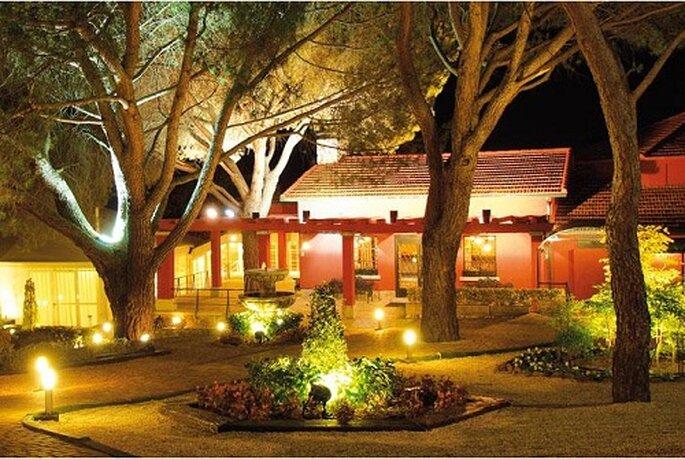 El espacio Jardines es un delicioso lugar donde celebrar el banquete de bodas.