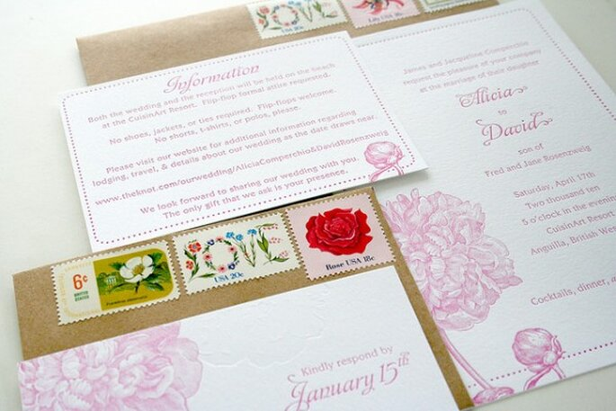 Los mejores acentos de color rosa para decorar tu boda - Foto Sarah Parrott