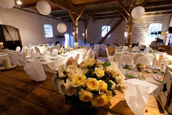 Hochzeitslocation Stall
