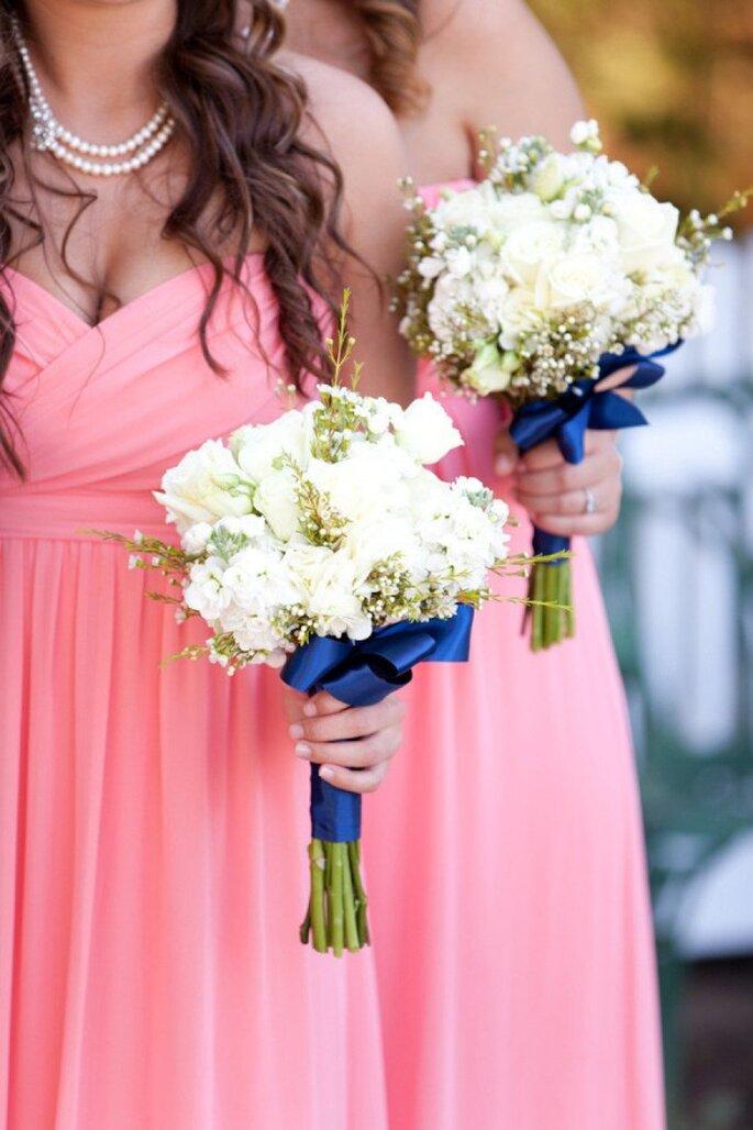Inspiración en coral y marino para tu boda - Foto Marin Kristine Photography