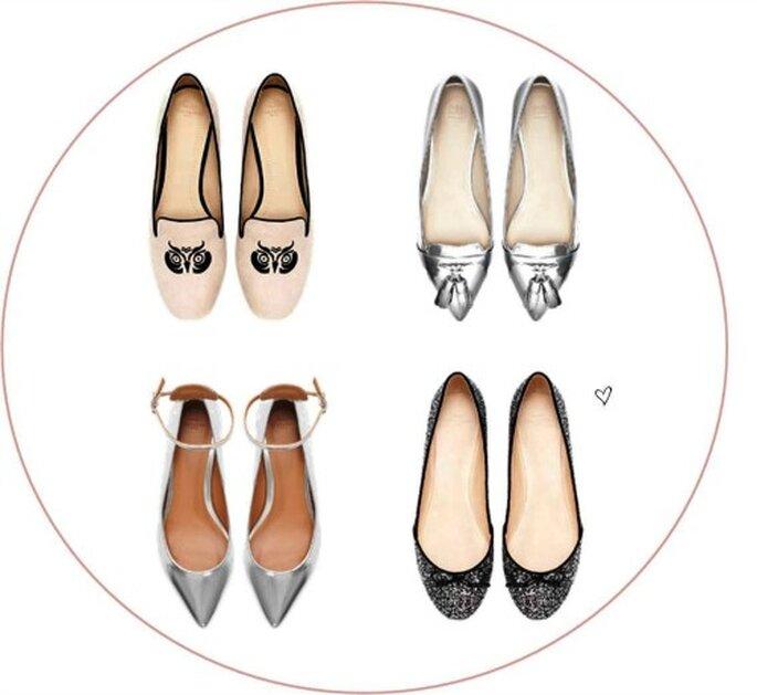 Sapatos para Noiva Rasos
