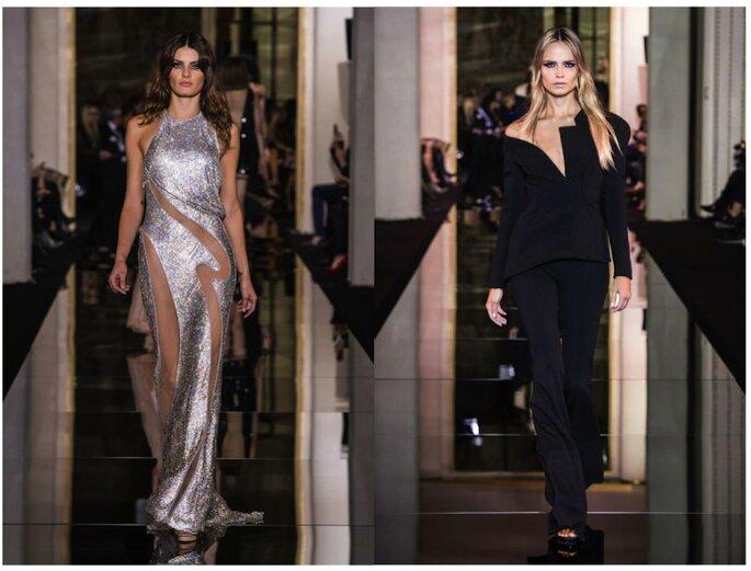 Versace #PFW - foto via facebook.com/versace