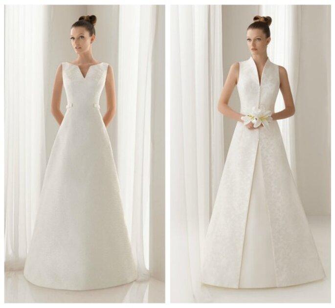 Vestidos de novia que favorecen a las mujeres bajitas