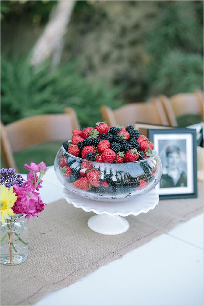 Tutti frutti l allegria colorata della frutta nelle tue for Decorazioni nuziali