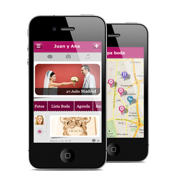 App iPhone para tu boda de Zankyou