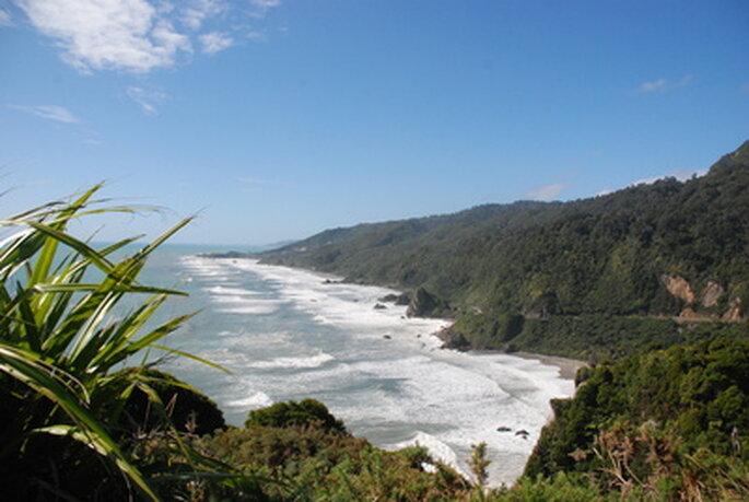 Umweltfreundliche Hochzeitsreise in Neuseeland mit Restoration Expeditions, Foto - Marion S._pixelio.de