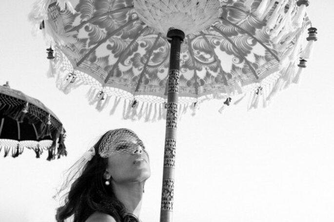 Sombrillas decorativas para boda