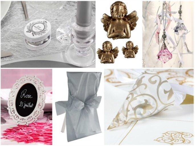 Misez sur le style baroque pour votre décoration de mariage 2013 ! - Photo : Zoé Confetti