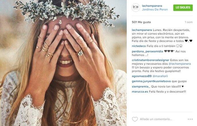 Imagen vía Instagram La Champanera