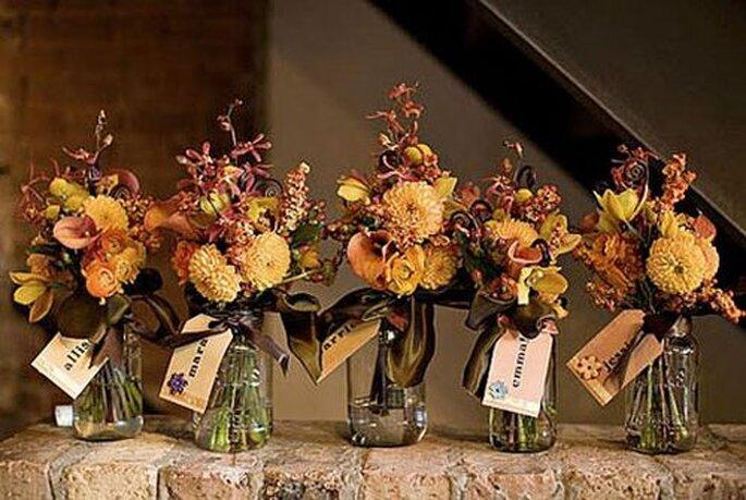 Des petits vases de fleurs pour vos cadeaux d'invités