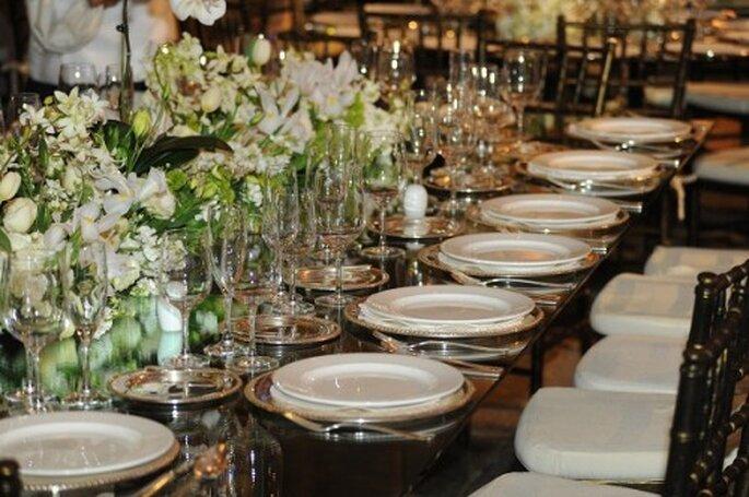 Montaje ideal para una boda de día - Foto Paulina Ricardi