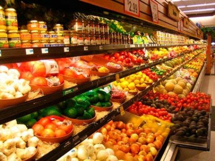 En el supermercado dirígite te a la zona de verduras