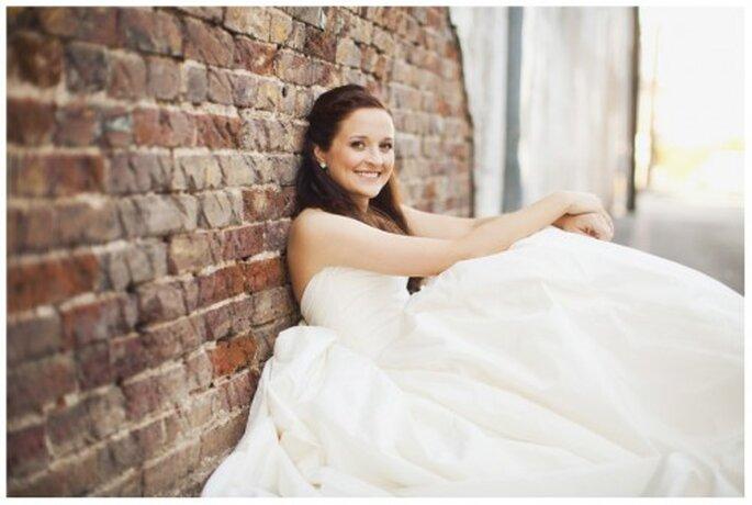 Asegúrate de sentirte cómoda con tu vestido de novia - Foto Stacy Reeves