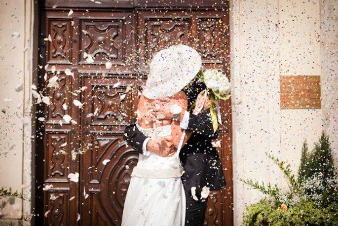 Alternative al lancio del riso sugli sposi. Foto: JoyPhotographers Studio Fotografico
