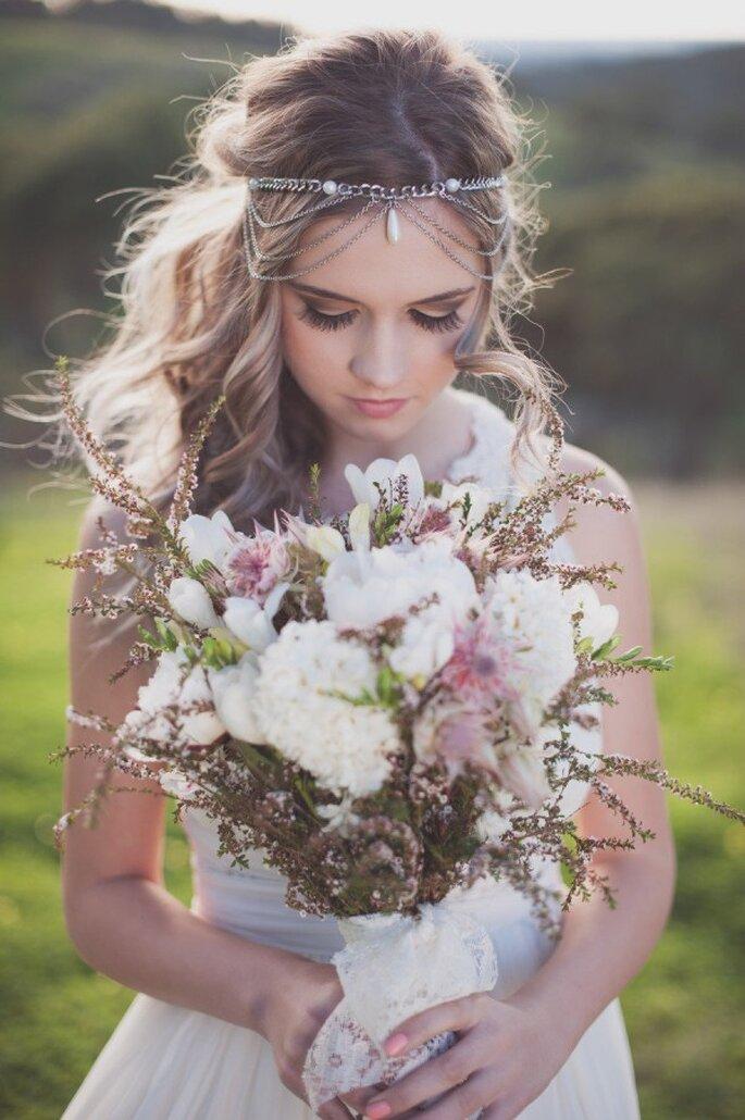 El boom de las novias boho chic - Foto Lucinda May Photography