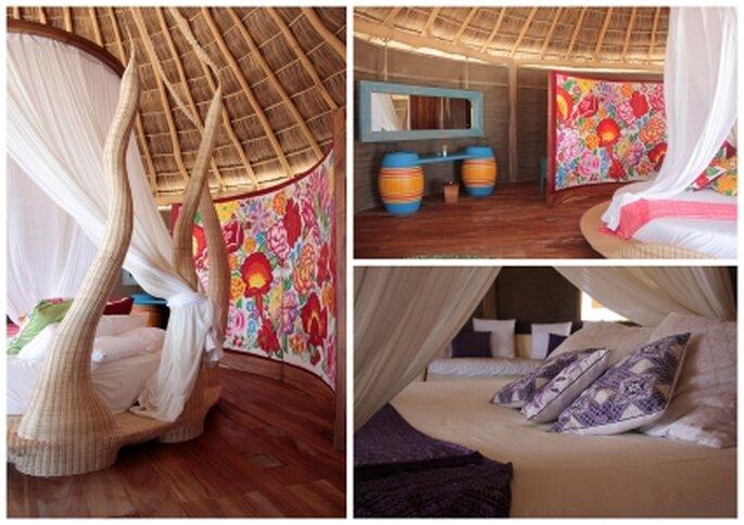 Luna de miel en Hotelito Desconocido, Mismaloya, Jalisco.