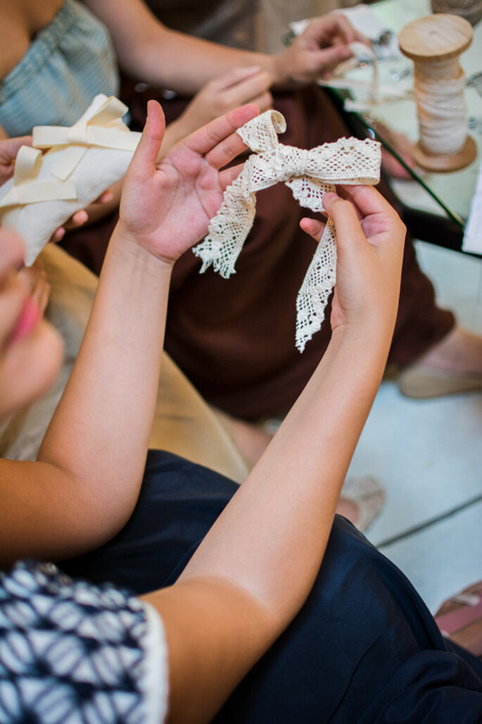 Tu despedida de soltera inspirada en la costura y un estilo rústico - Foto Elisabetta Marzetti