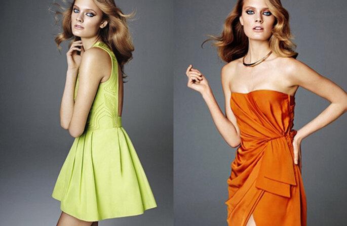 Verde acido e arancio. Foto: H&M