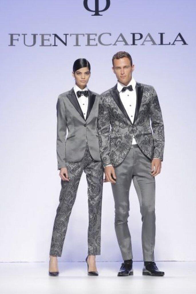 Propuesta para novia con look masculino de Furntecapala 2015