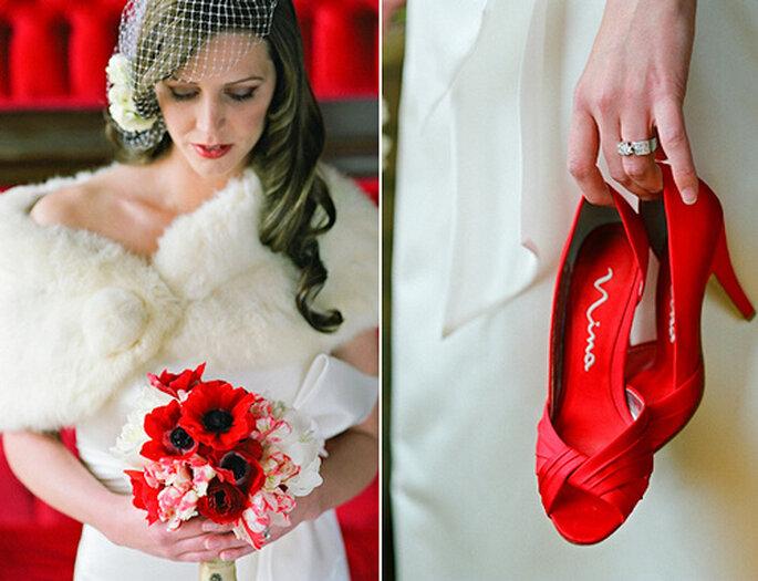 Rojo: color de la pasión por excelencia. Foto de Amy Majors