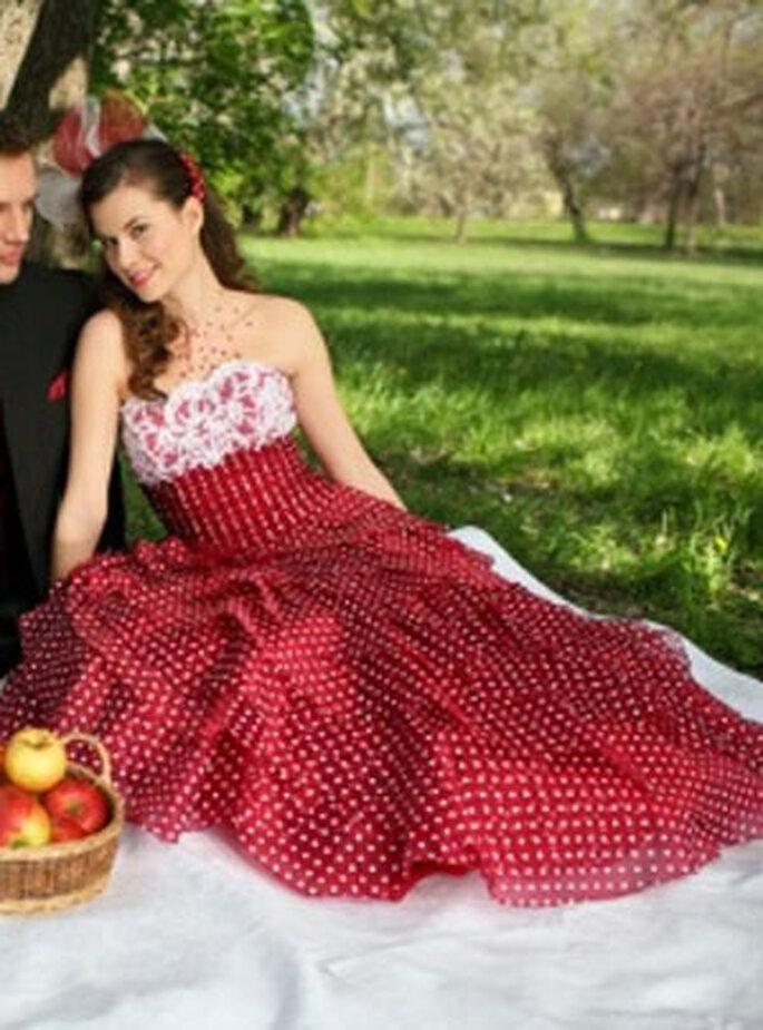 Robes de mariée colorées 2011