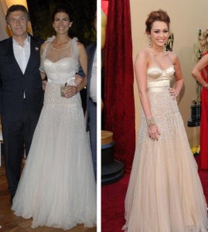 Modelo de vestido de novia de Juliana Awada