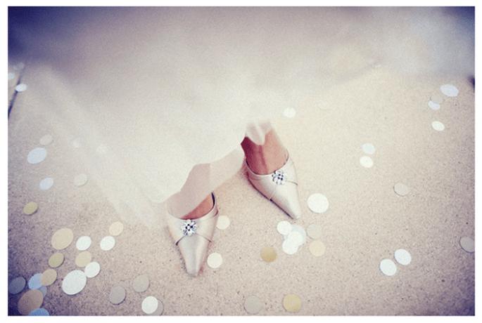 Confeti para lanzar a los novios - Foto Sean Flanigan