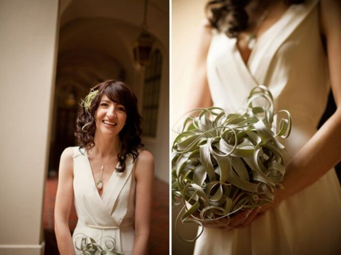 Propuestas para novias bien naturales - Foto: Green Wedding Shoes