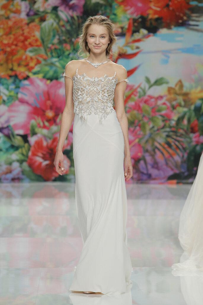Suknia ślubna z kolekcji Galia Lahav