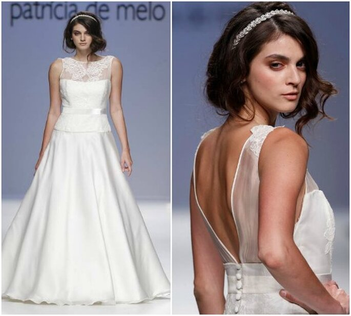 Vestido de novia de Joana Montez & Patricia de Melo 2013. Fotos: Ugo Camera - Barcelona Bridal Week