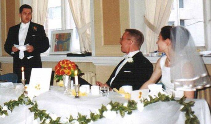 Palabras del padre de la novia