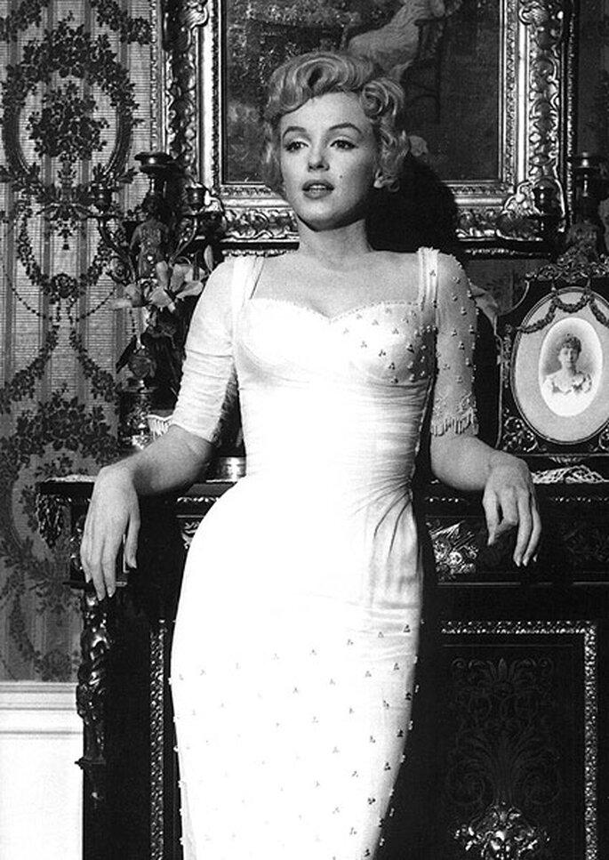 Marilyn Monroe interpreta a Elise Marina en 'El príncipe y la corista'. Foto: Warner Bros. Pictures